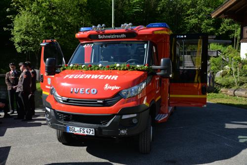 Segnung des neuen MLF der Feuerwehr Schneizlreuth - Bild 02